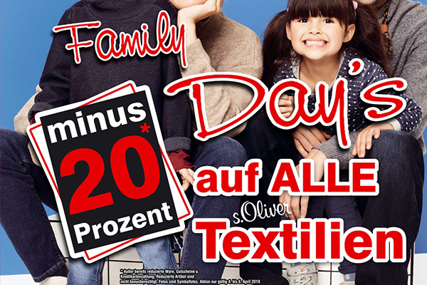 anna fashion family day 2019